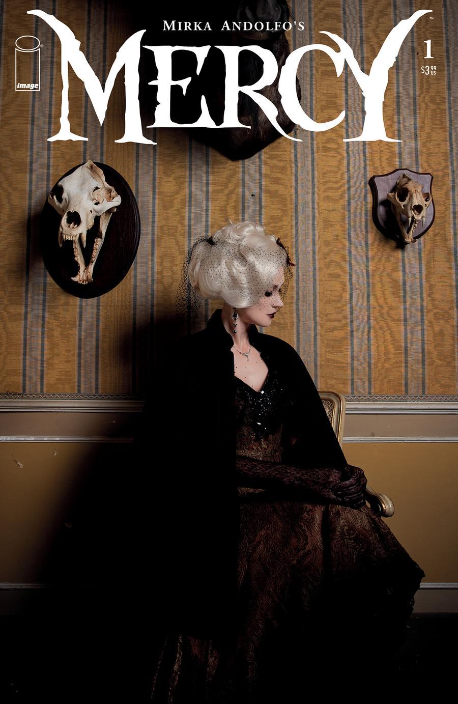 Mirka Andolfos Mercy #1 Cover E Variant Photo Cover