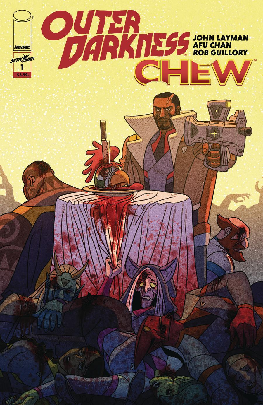 Outer Darkness Chew #1 Cover A Regular Afu Chan Cover