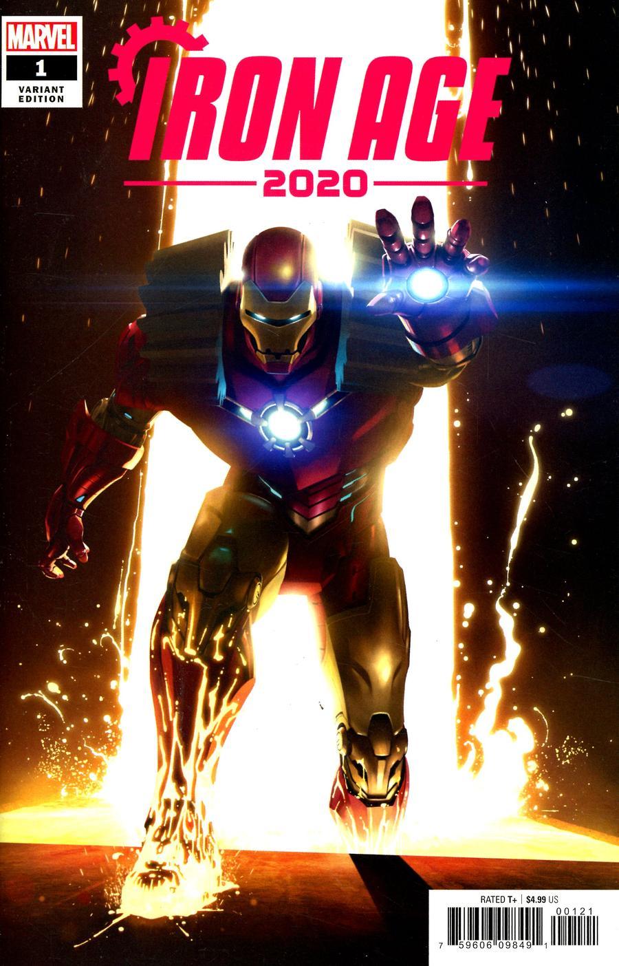 2020 Iron Age #1 Cover B Variant Rahzzah Cover