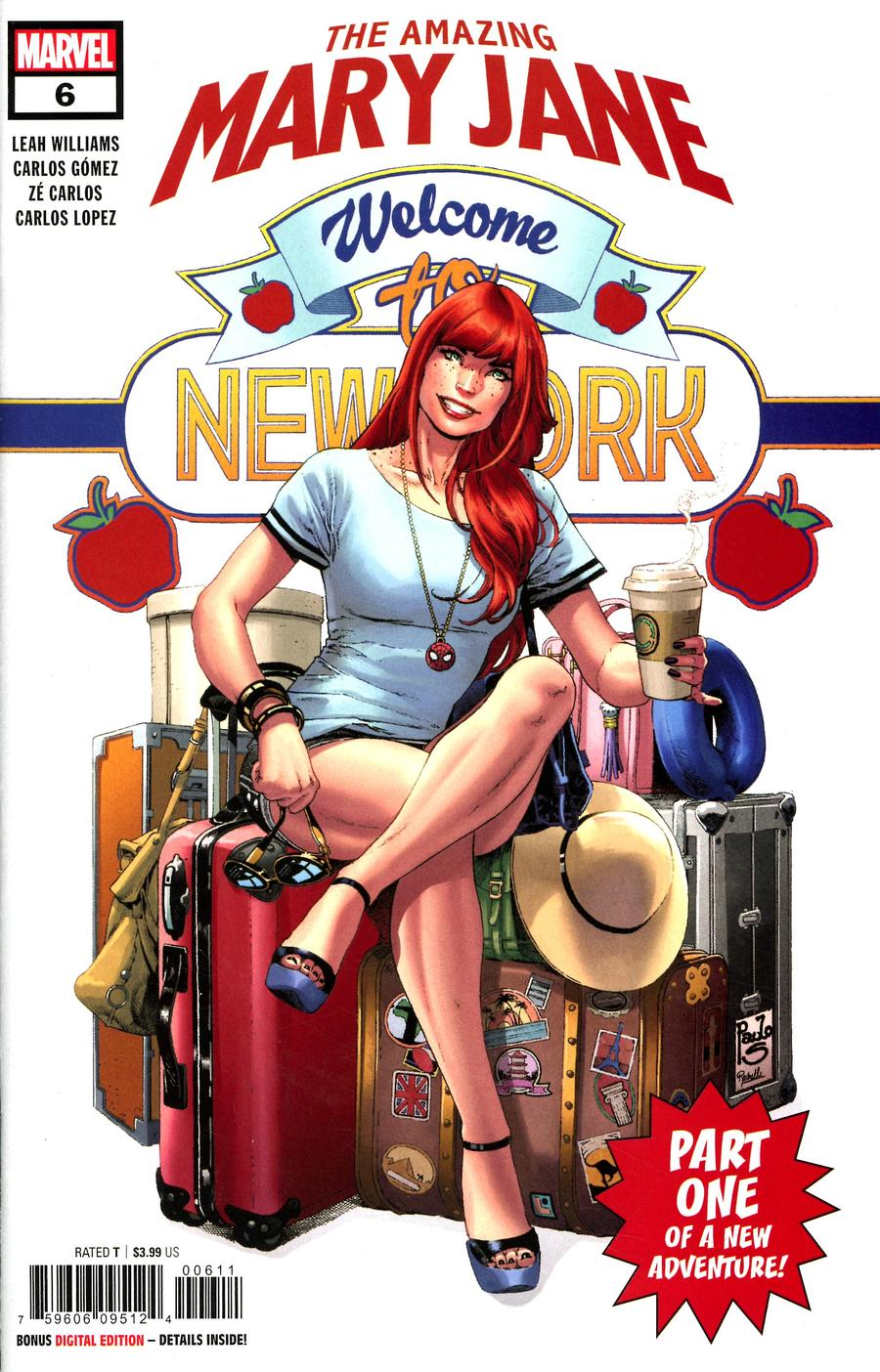 Amazing Mary Jane #6 Cover A Regular Paulo Siqueira Cover