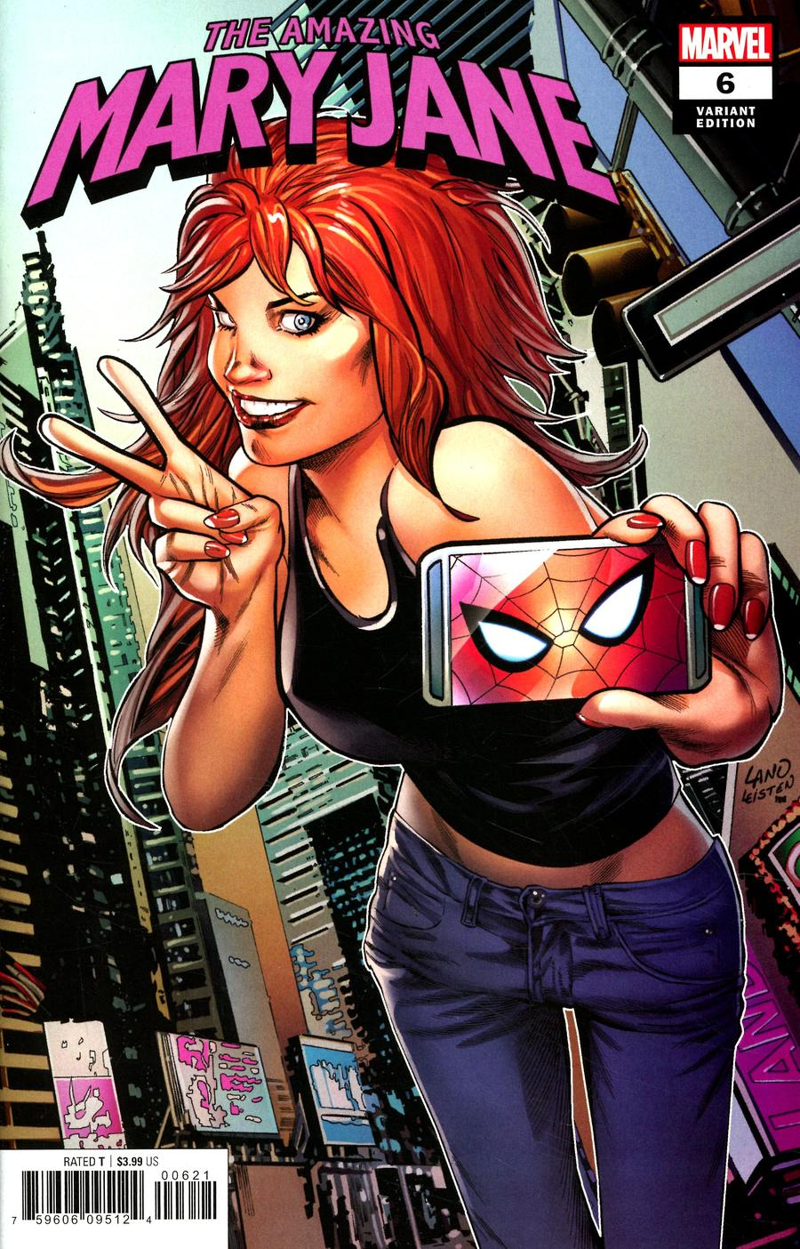 Amazing Mary Jane #6 Cover B Variant Greg Land Cover