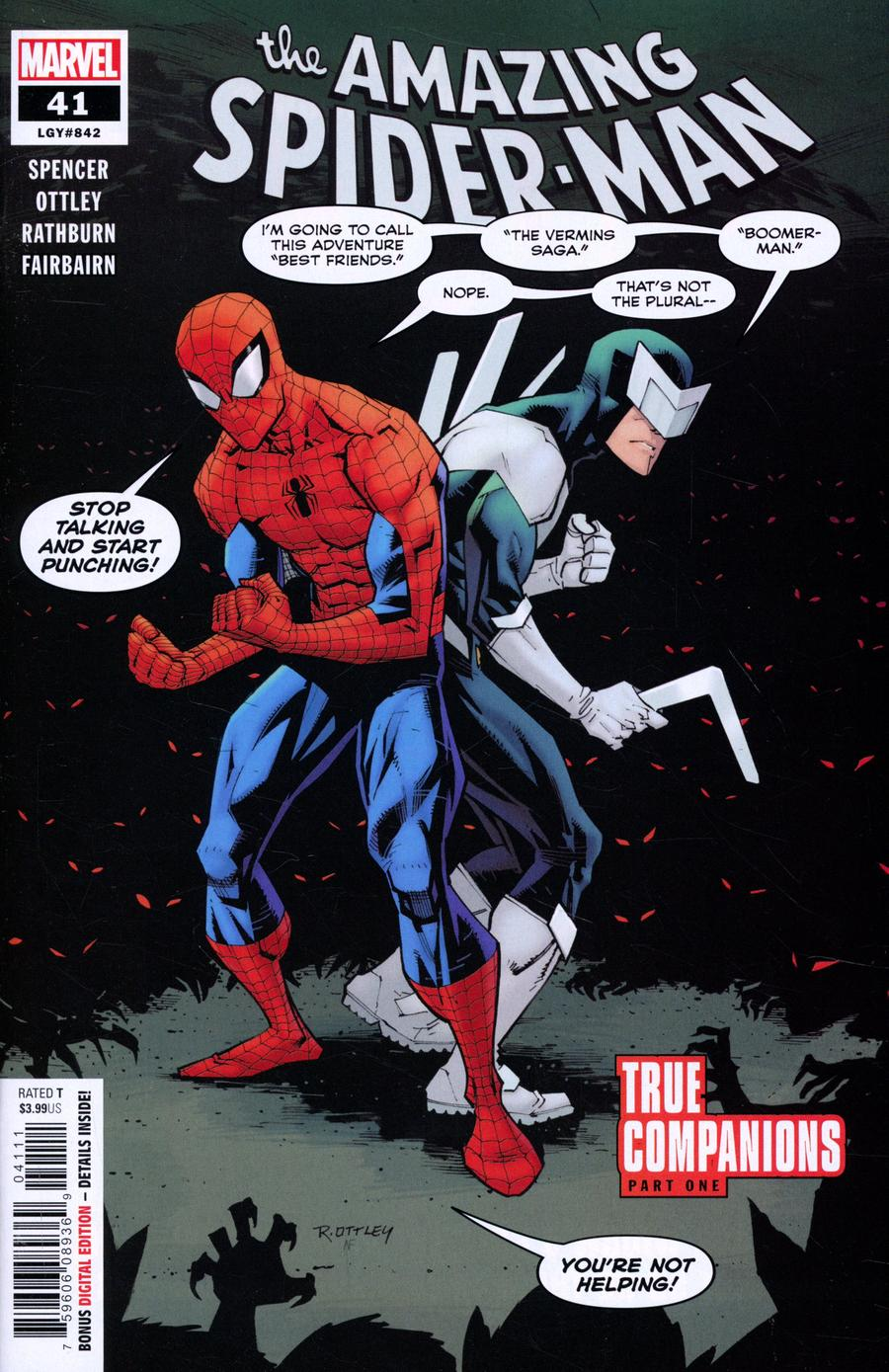 Amazing Spider-Man Vol 5 #41 Cover A Regular Ryan Ottley Cover