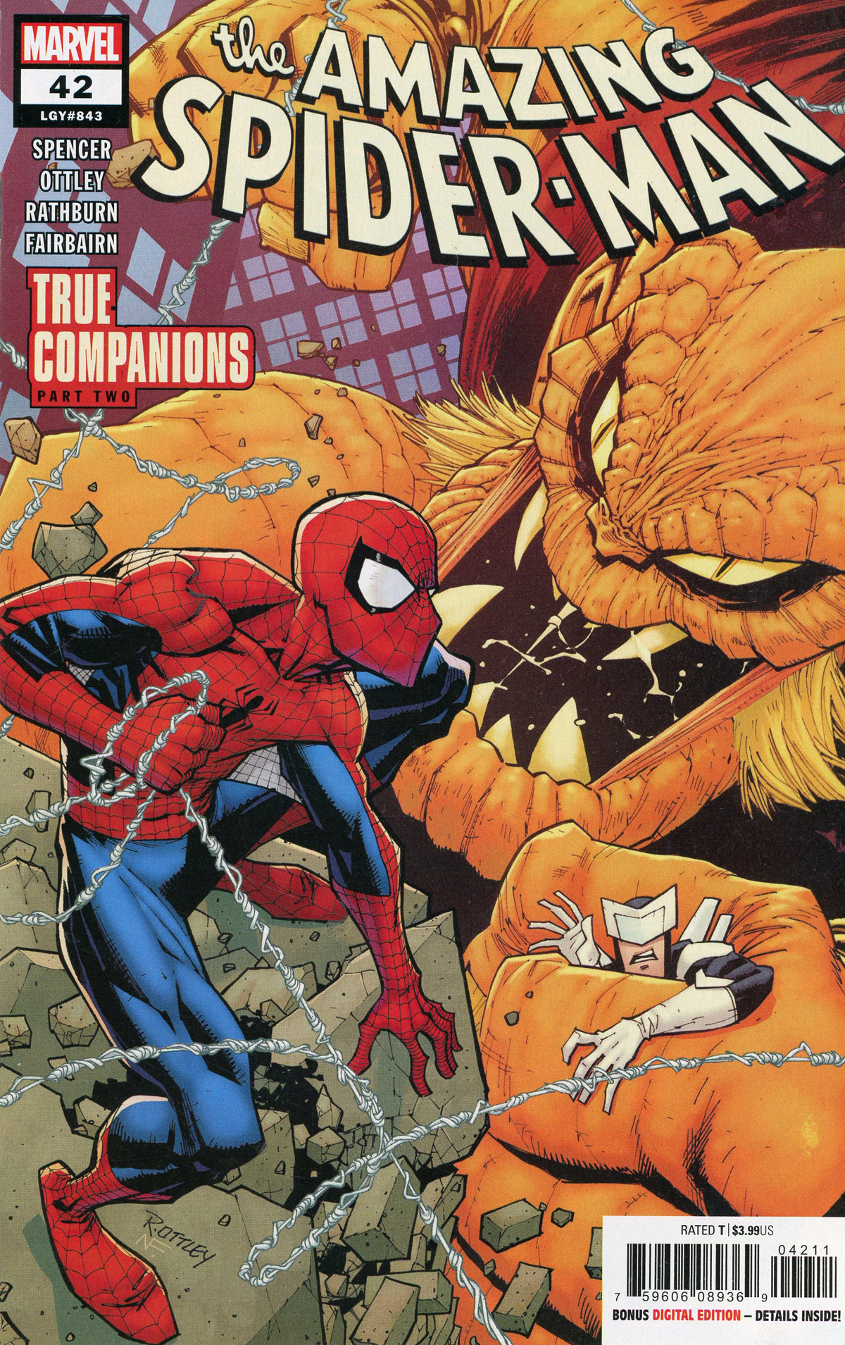 Amazing Spider-Man Vol 5 #42 Cover A Regular Ryan Ottley Cover