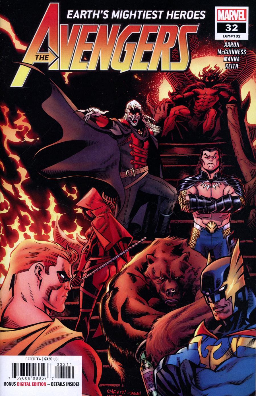 Avengers Vol 7 #32 Cover A Regular Ed McGuinness Cover