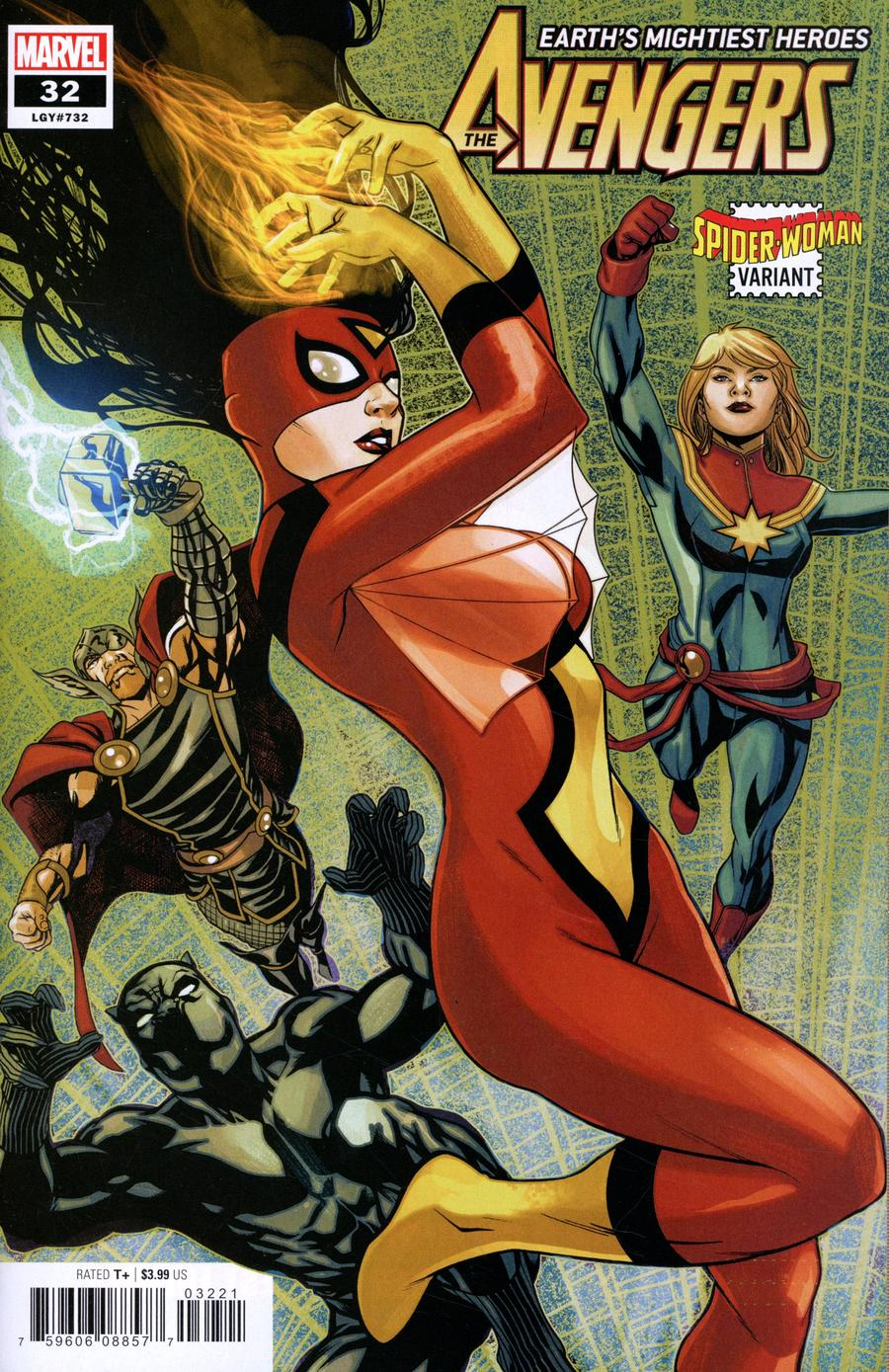Avengers Vol 7 #32 Cover B Variant Mike McKone Spider-Woman Cover