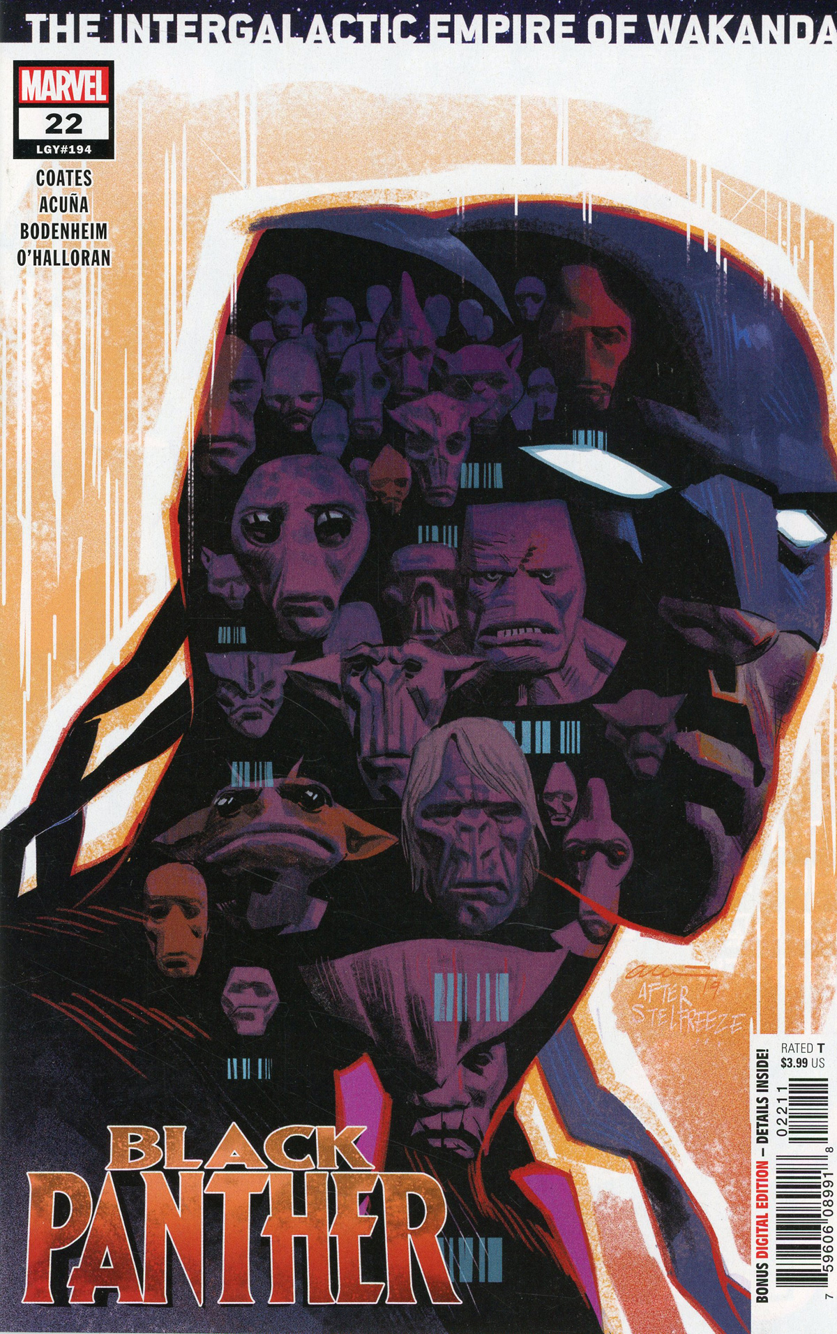 Black Panther Vol 7 #22 Cover A Regular Daniel Acuna Cover