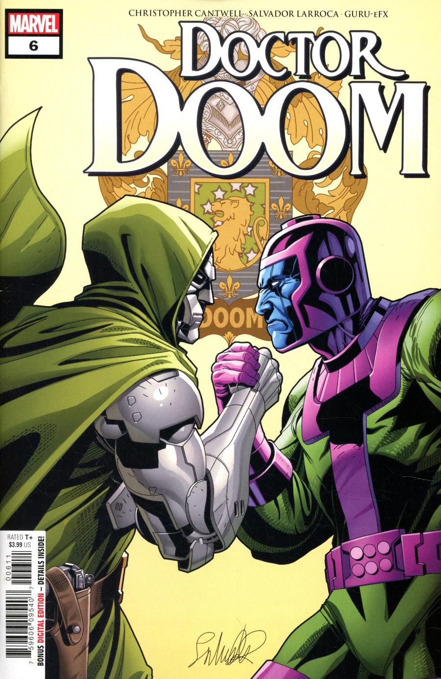 Doctor Doom #6 Cover A Regular Salvador Larroca Cover