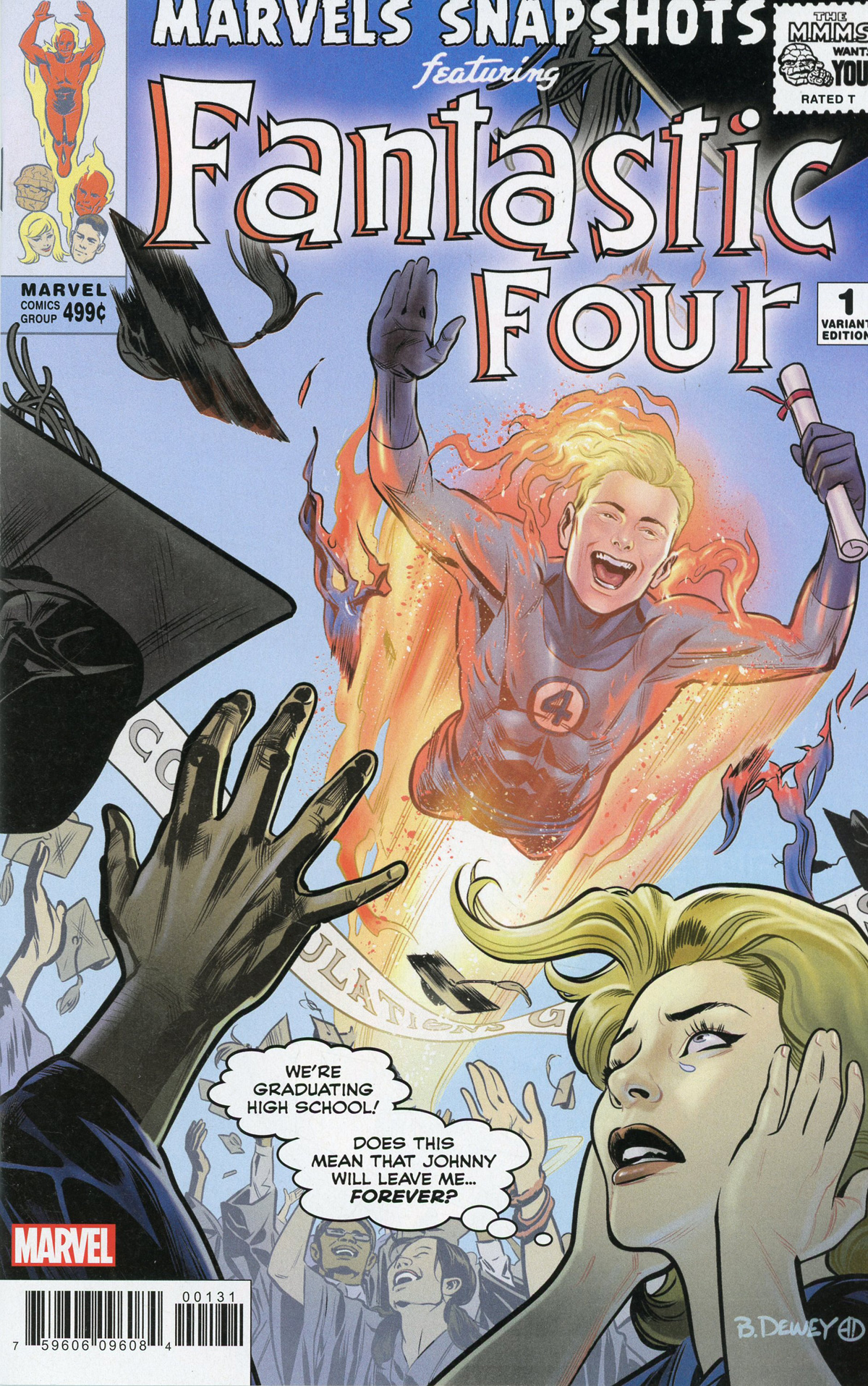 Fantastic Four Marvels Snapshots #1 Cover B Variant Benjamin Dewey Cover