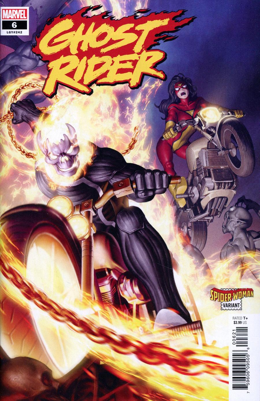Ghost Rider Vol 8 #6 Cover B Variant Junggeun Yoon Spider-Woman Cover