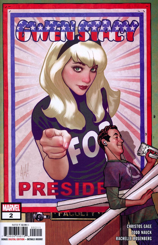 Gwen Stacy #2 Cover A Regular Adam Hughes Cover