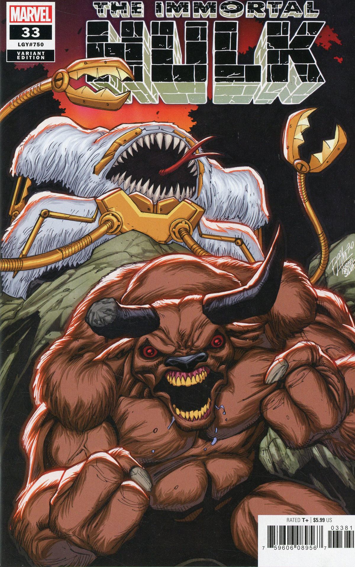 Immortal Hulk #33 Cover E Variant Ron Lim Cover (#750)