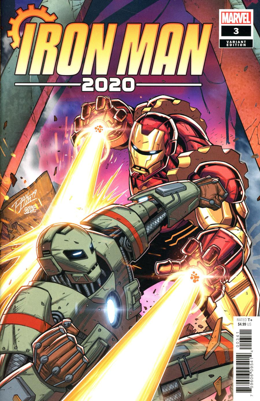 Iron Man 2020 #3 Cover D Variant Ron Lim Cover