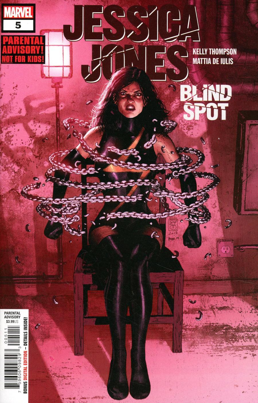 Jessica Jones Blind Spot #5 Cover A Regular Valerio Giangiordano Cover