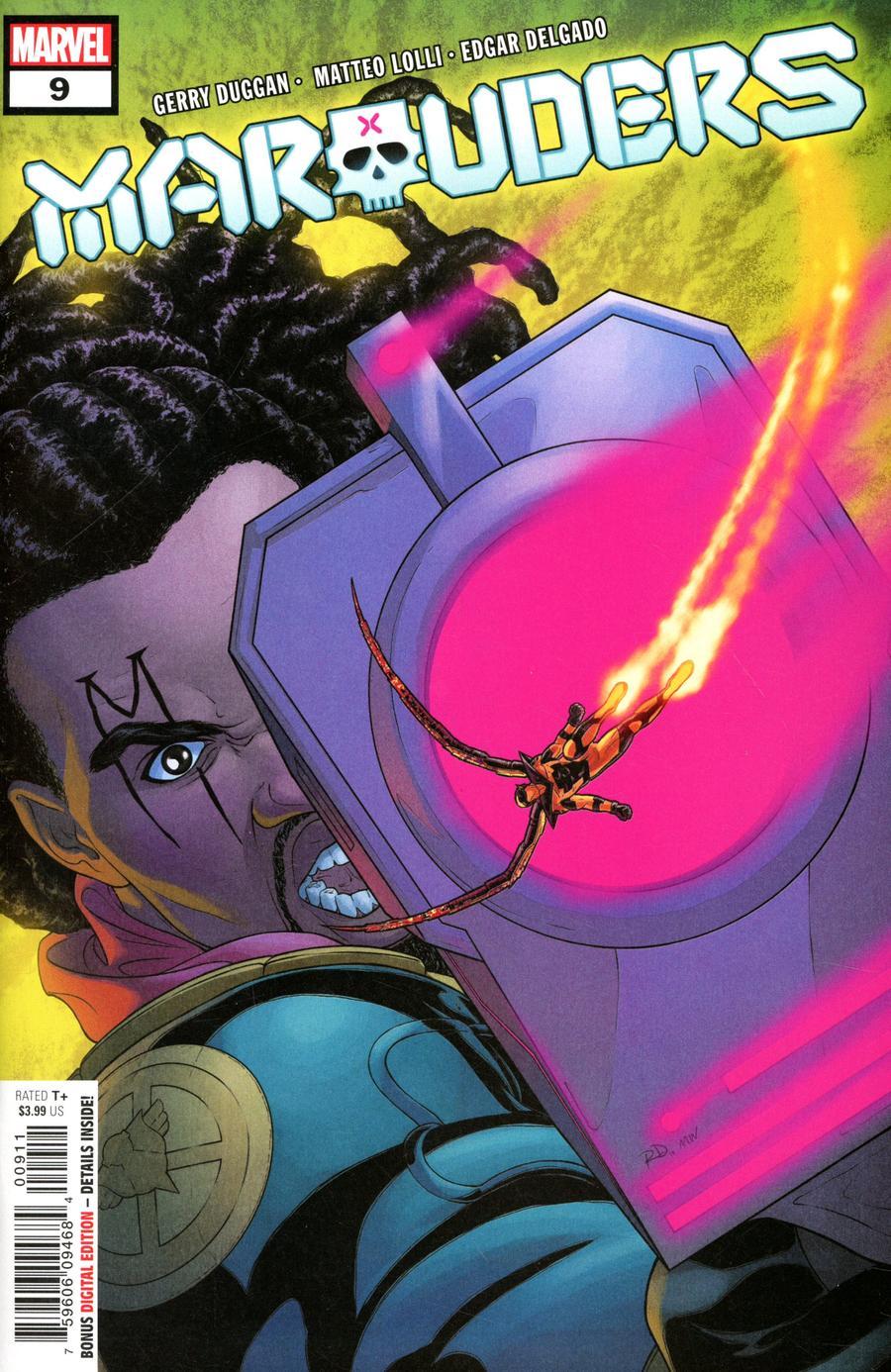 Marauders #9 Cover A Regular Russell Dauterman Cover (Dawn Of X Tie-In)