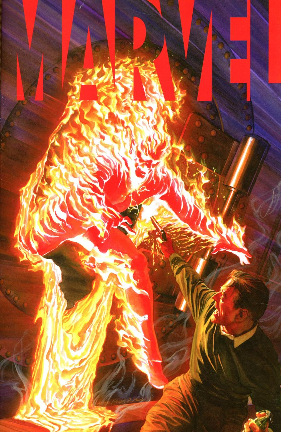 Marvel #1 Cover A Regular Alex Ross Cover