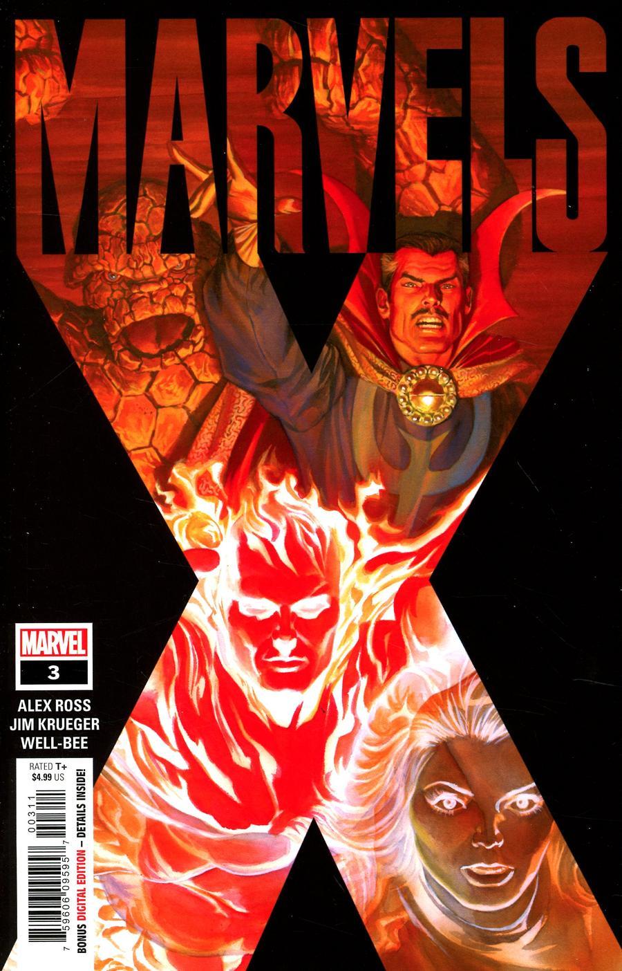 Marvels X #3 Cover A Regular Alex Ross Cover
