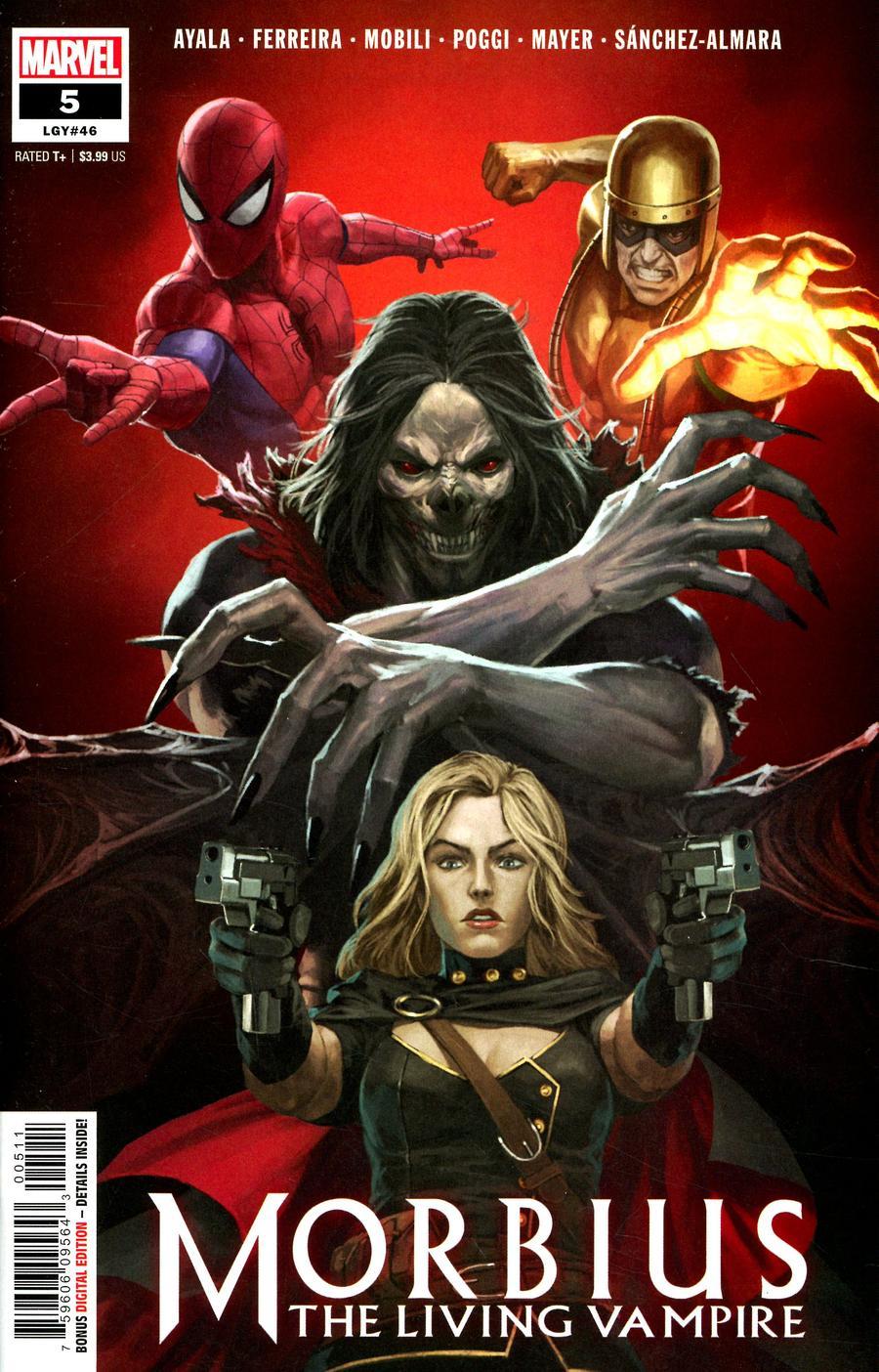 Morbius #5 Cover A Regular Skan Cover
