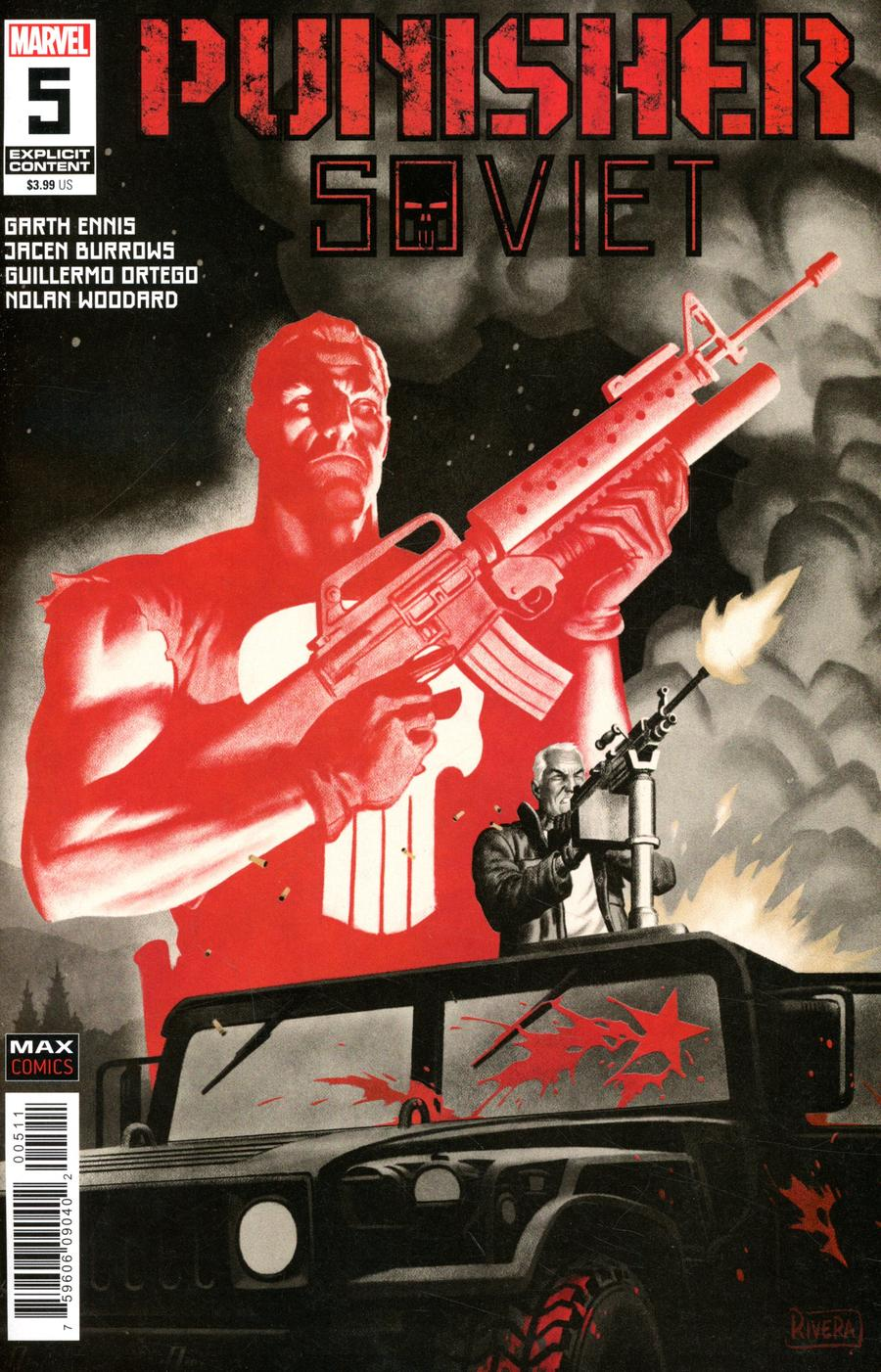 Punisher Soviet #5 Cover A Regular Paolo Rivera Cover