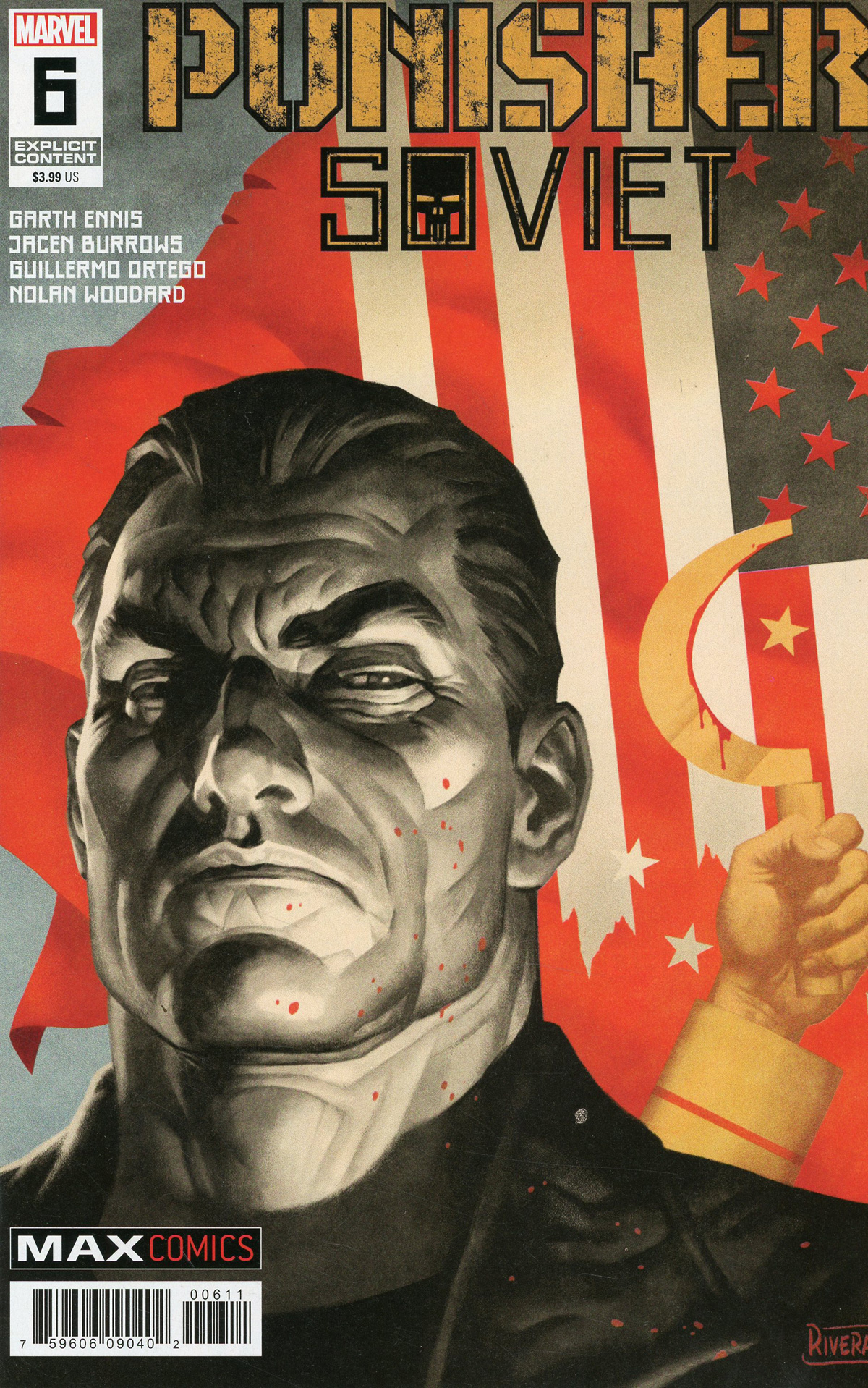 Punisher Soviet #6 Cover A Regular Paolo Rivera Cover
