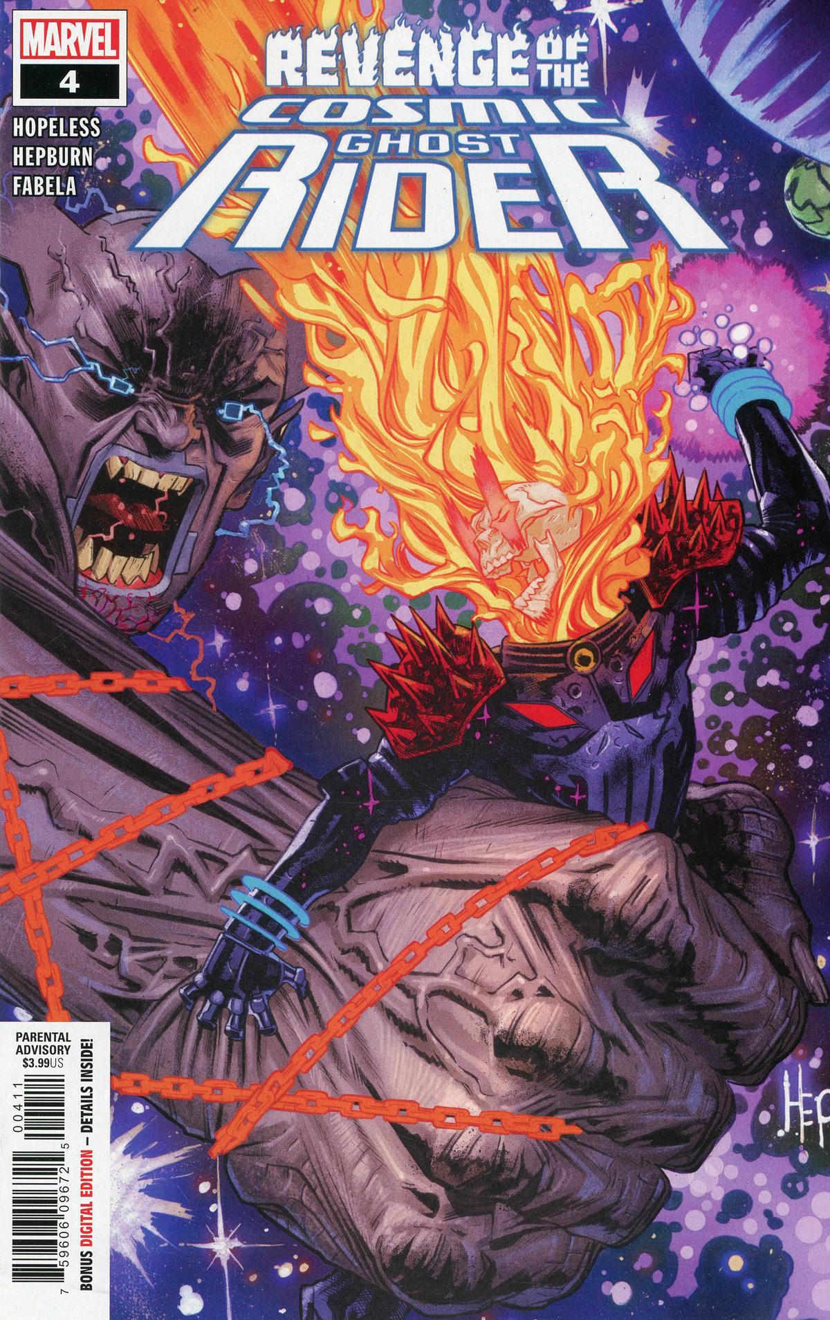 Revenge Of The Cosmic Ghost Rider #4 Cover A Regular Scott Hepburn Cover
