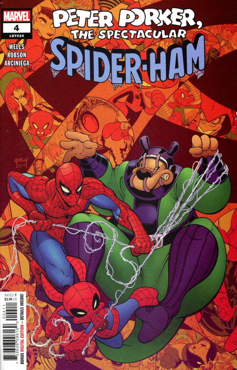 Spider-Ham #4 Cover A Regular Will Robson Cover