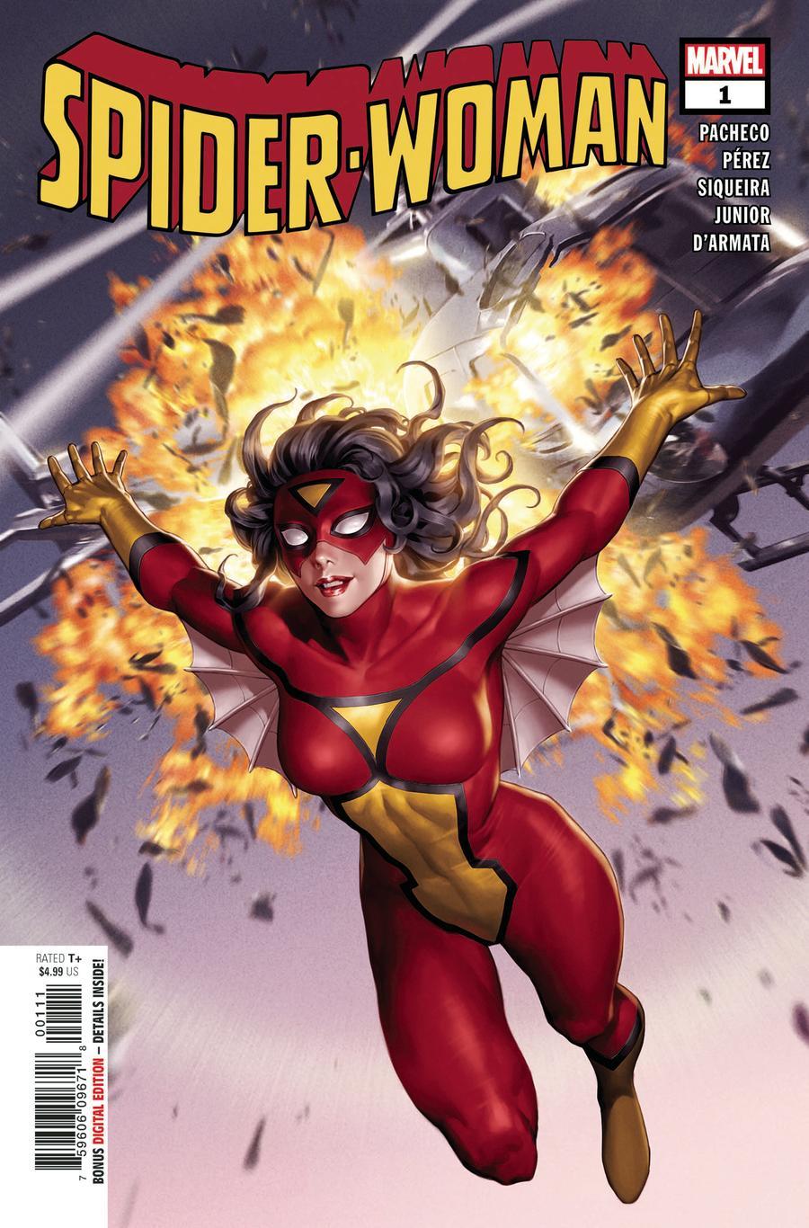 Spider-Woman Vol 7 #1 Cover A Regular Junggeun Yoon Classic Cover
