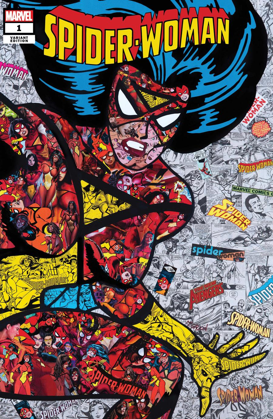 Spider-Woman Vol 7 #1 Cover F Variant Mr Garcin Cover