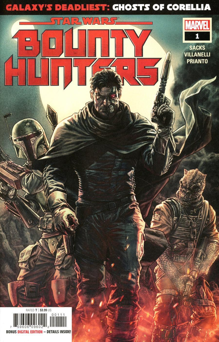 Star Wars Bounty Hunters #1 Cover A 1st Ptg Regular Lee Bermejo Cover