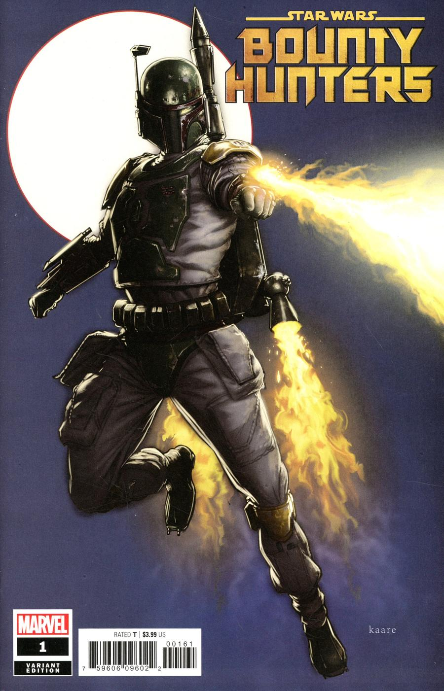 Star Wars Bounty Hunters #1 Cover B Variant Kaare Andrews Cover