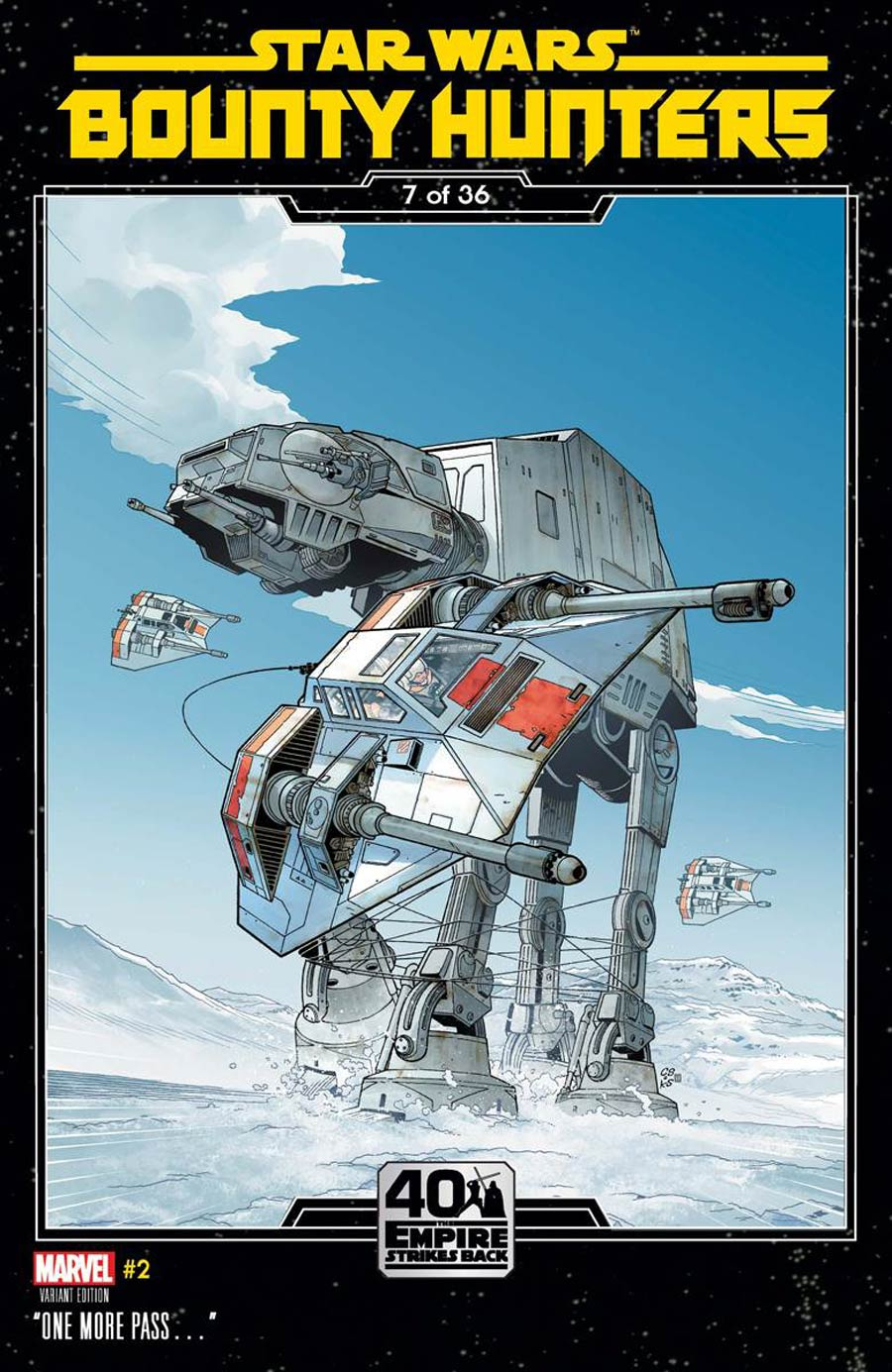 Star Wars Bounty Hunters #2 Cover B Variant Chris Sprouse Empire Strikes Back Cover