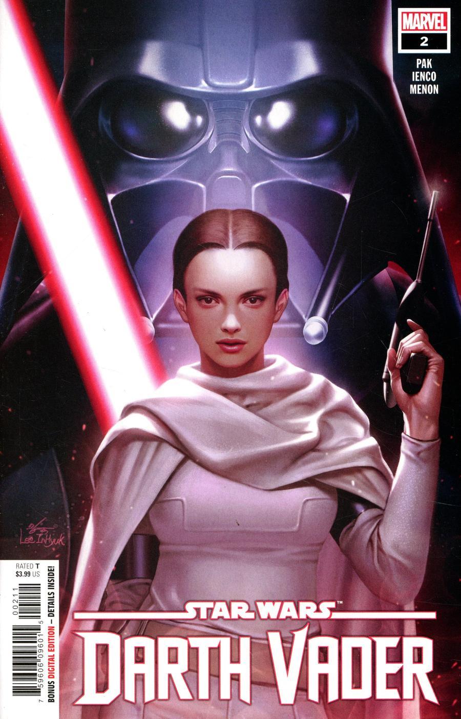 Star Wars Darth Vader #2 Cover A 1st Ptg Regular Inhyuk Lee Cover