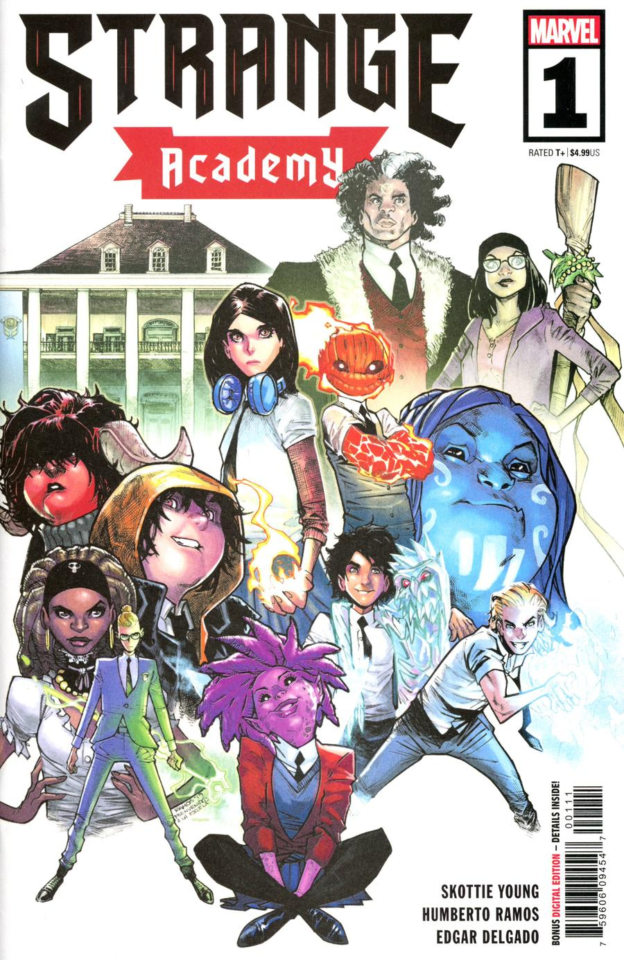 Strange Academy #1 Cover A 1st Ptg Regular Humberto Ramos Cover
