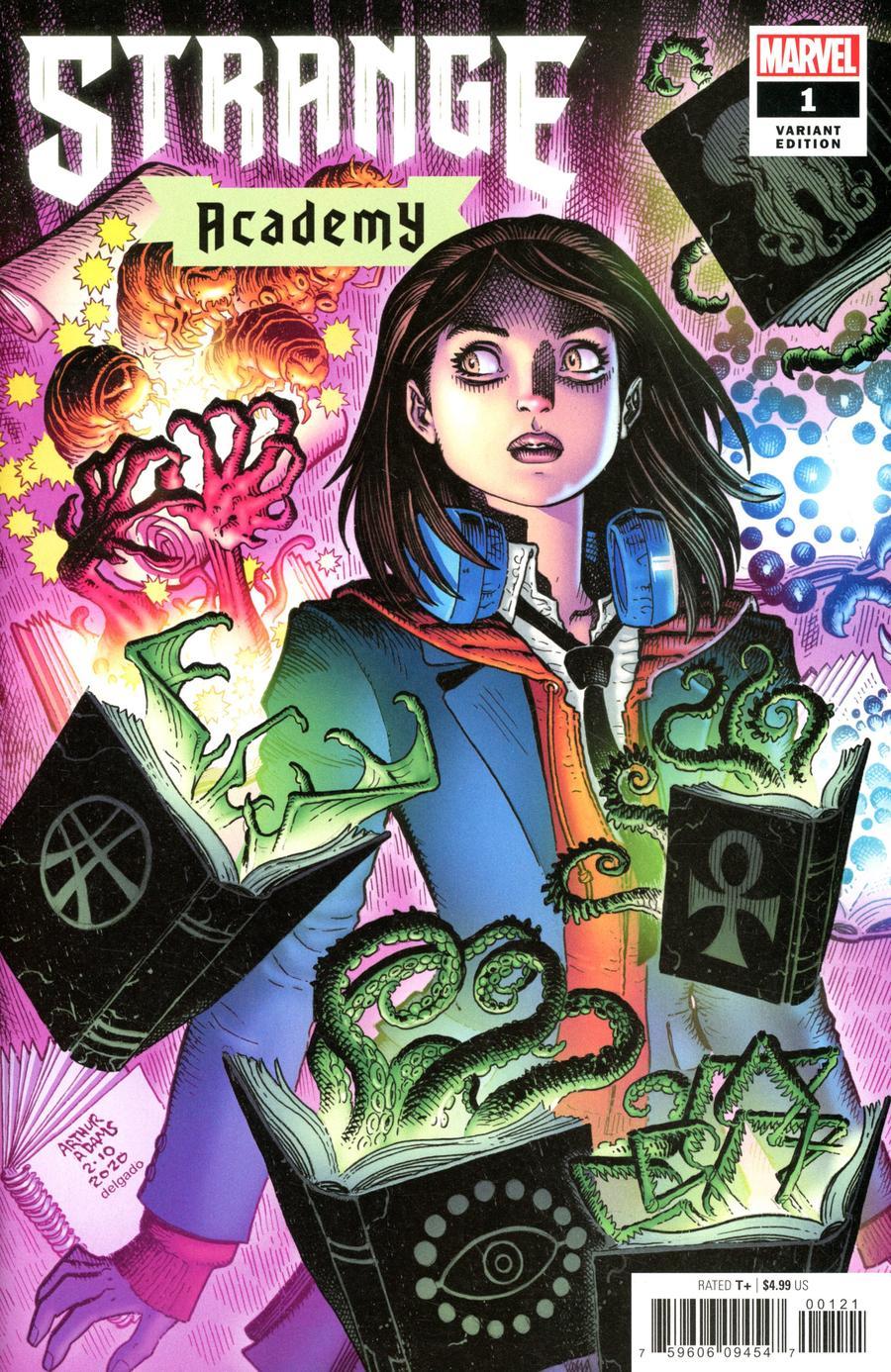 Strange Academy #1 Cover B Variant Arthur Adams Character Spotlight Cover
