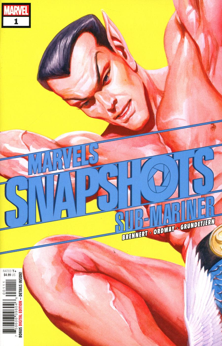 Sub-Mariner Marvels Snapshots #1 Cover A Regular Alex Ross Cover