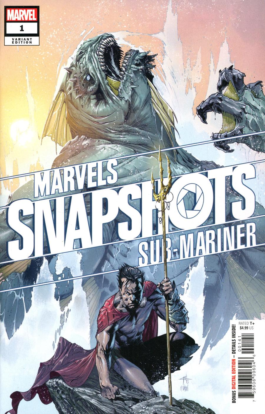 Sub-Mariner Marvels Snapshots #1 Cover B Variant Gabriele Dell Otto Cover