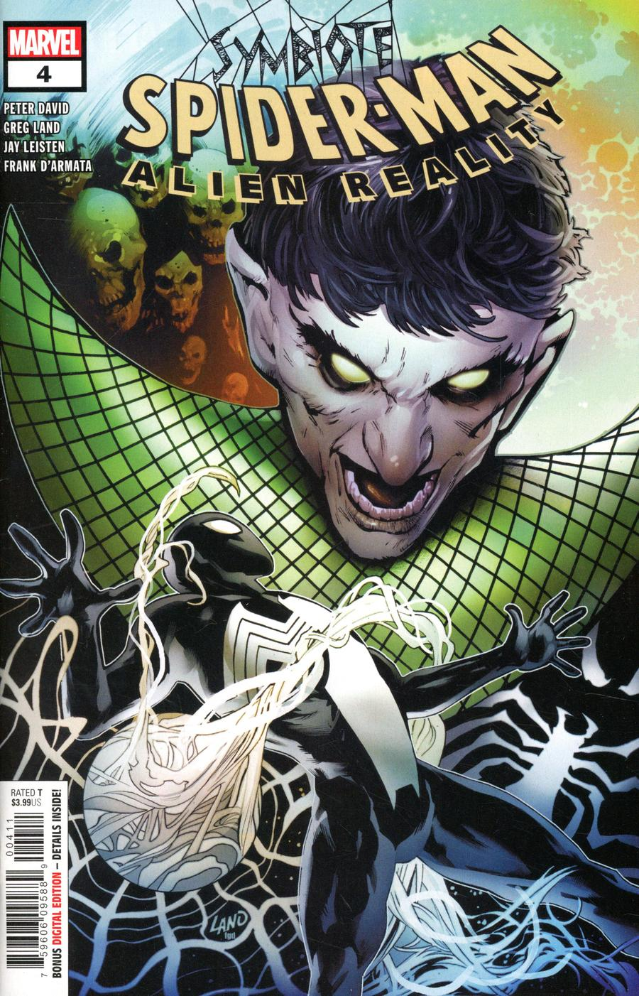 Symbiote Spider-Man Alien Reality #4 Cover A Regular Greg Land Cover