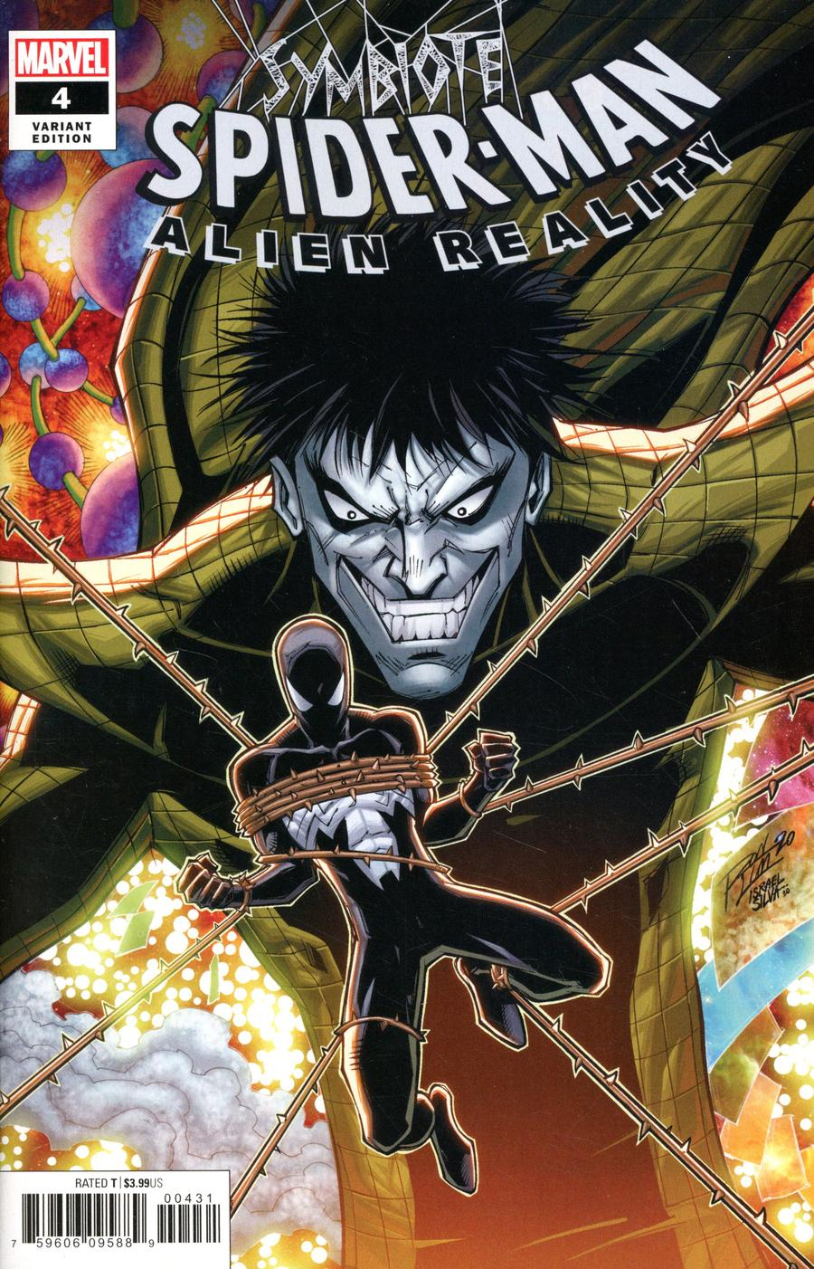 Symbiote Spider-Man Alien Reality #4 Cover B Variant Ron Lim Cover