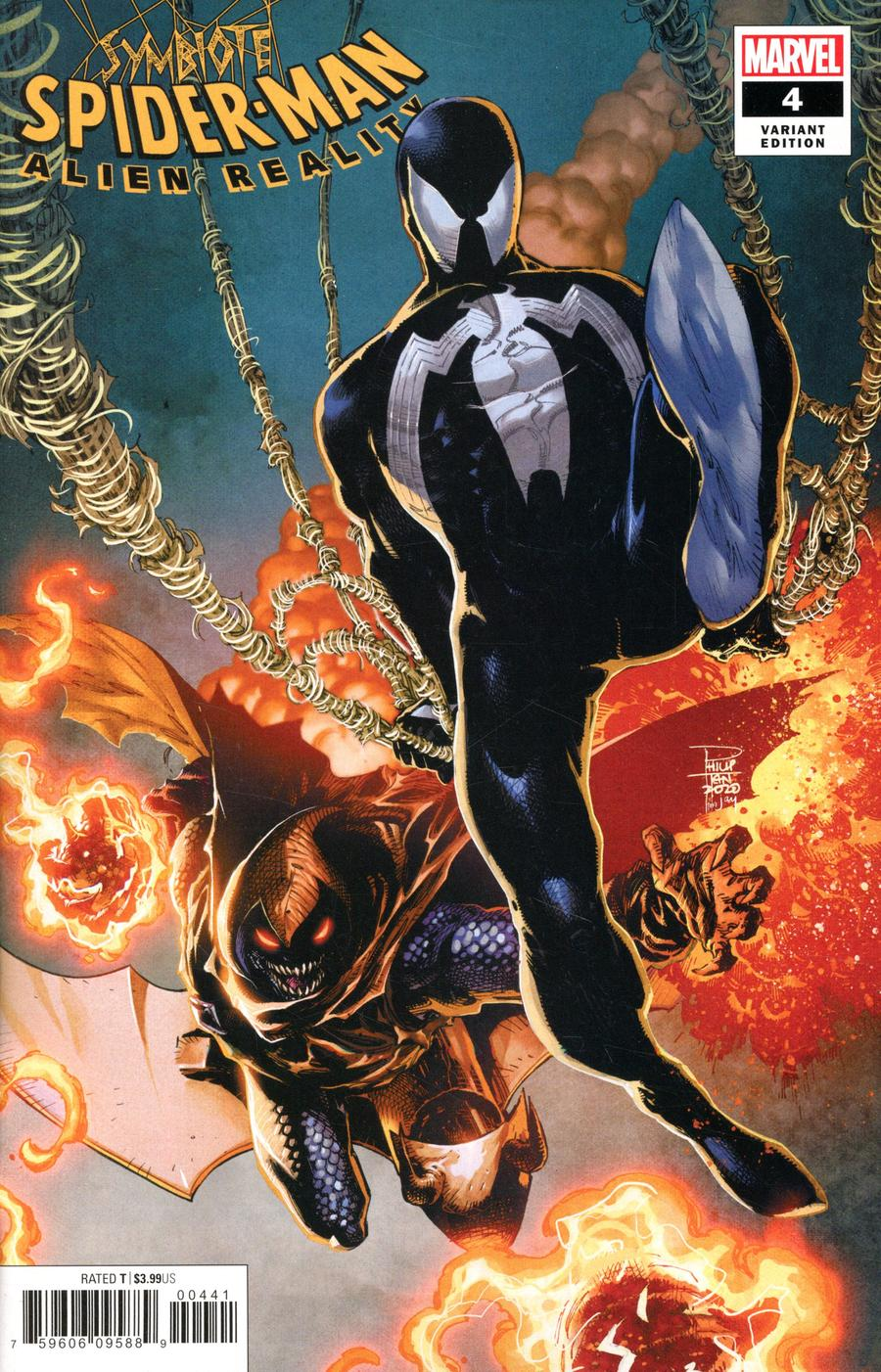 Symbiote Spider-Man Alien Reality #4 Cover C Variant Philip Tan Cover