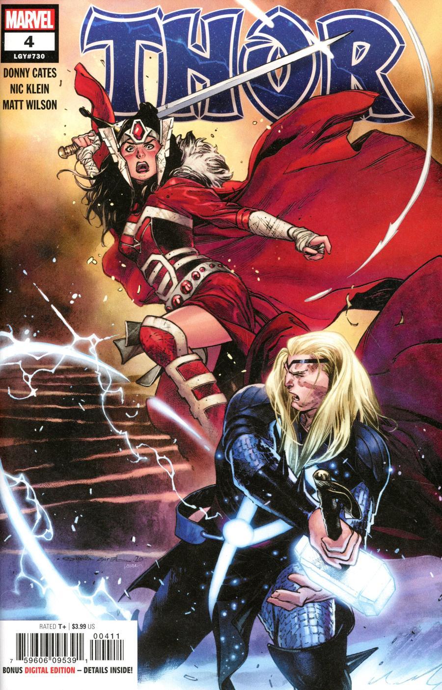 Thor Vol 6 #4 Cover A 1st Ptg Regular Olivier Coipel Cover