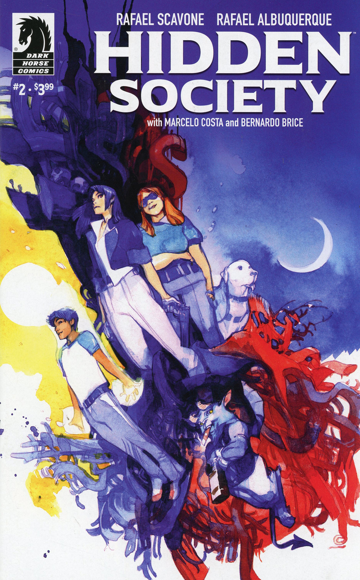 Hidden Society #2 Cover B Variant Greg Tocchini Cover