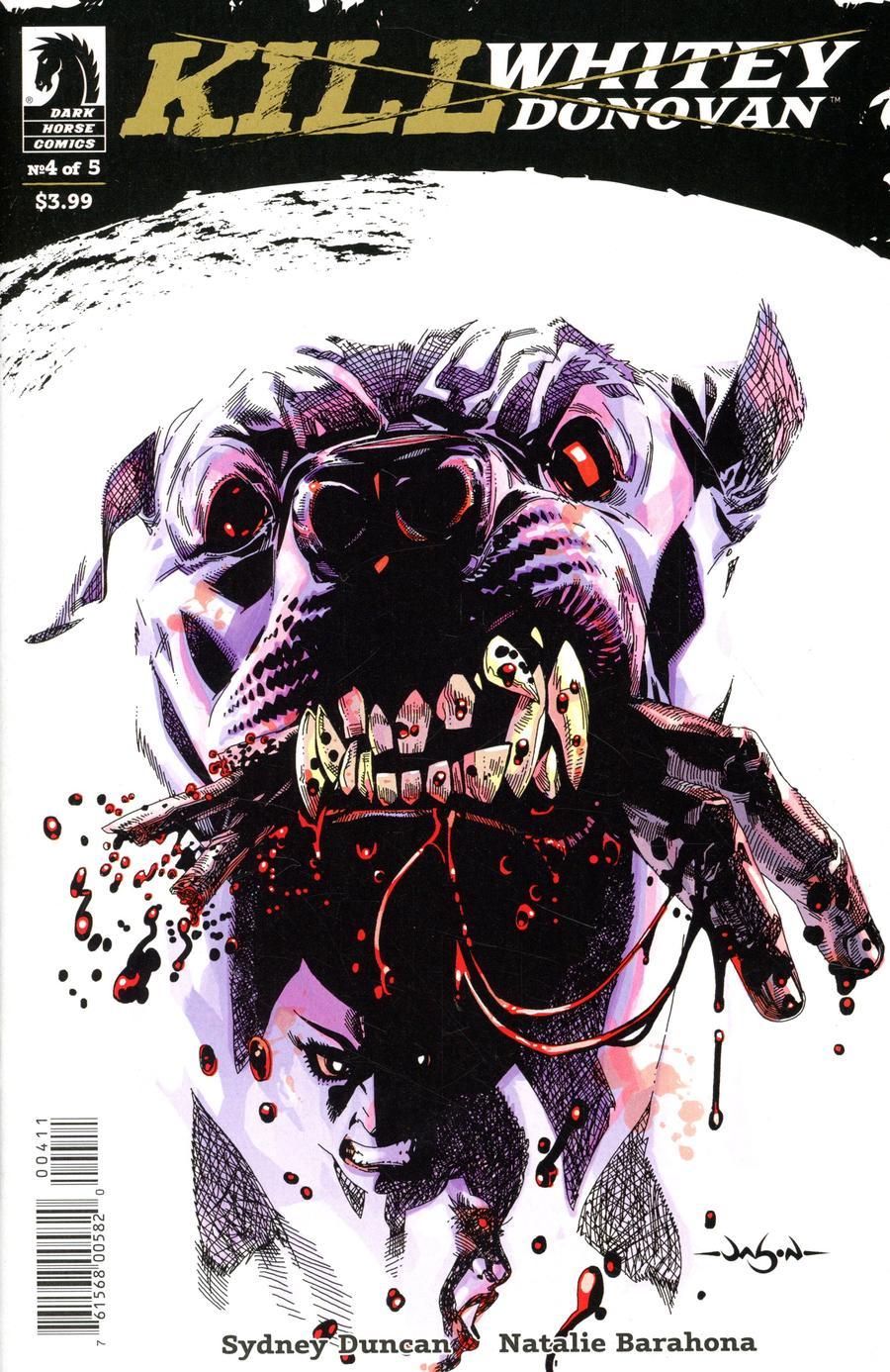 Kill Whitey Donovan #4 Cover A Regular Jason Pearson Cover