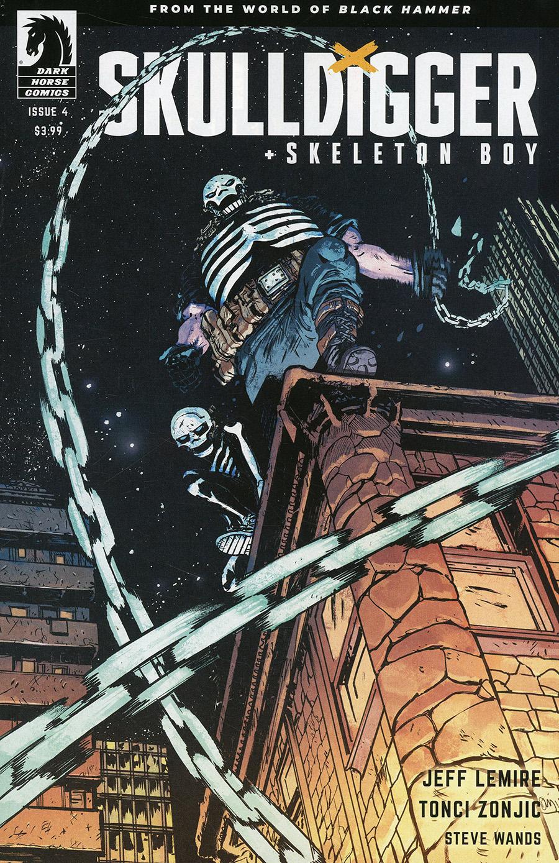 Skulldigger And Skeleton Boy From The World Of Black Hammer #4 Cover B Variant Daniel Warren Johnson & Mike Spicer Cover
