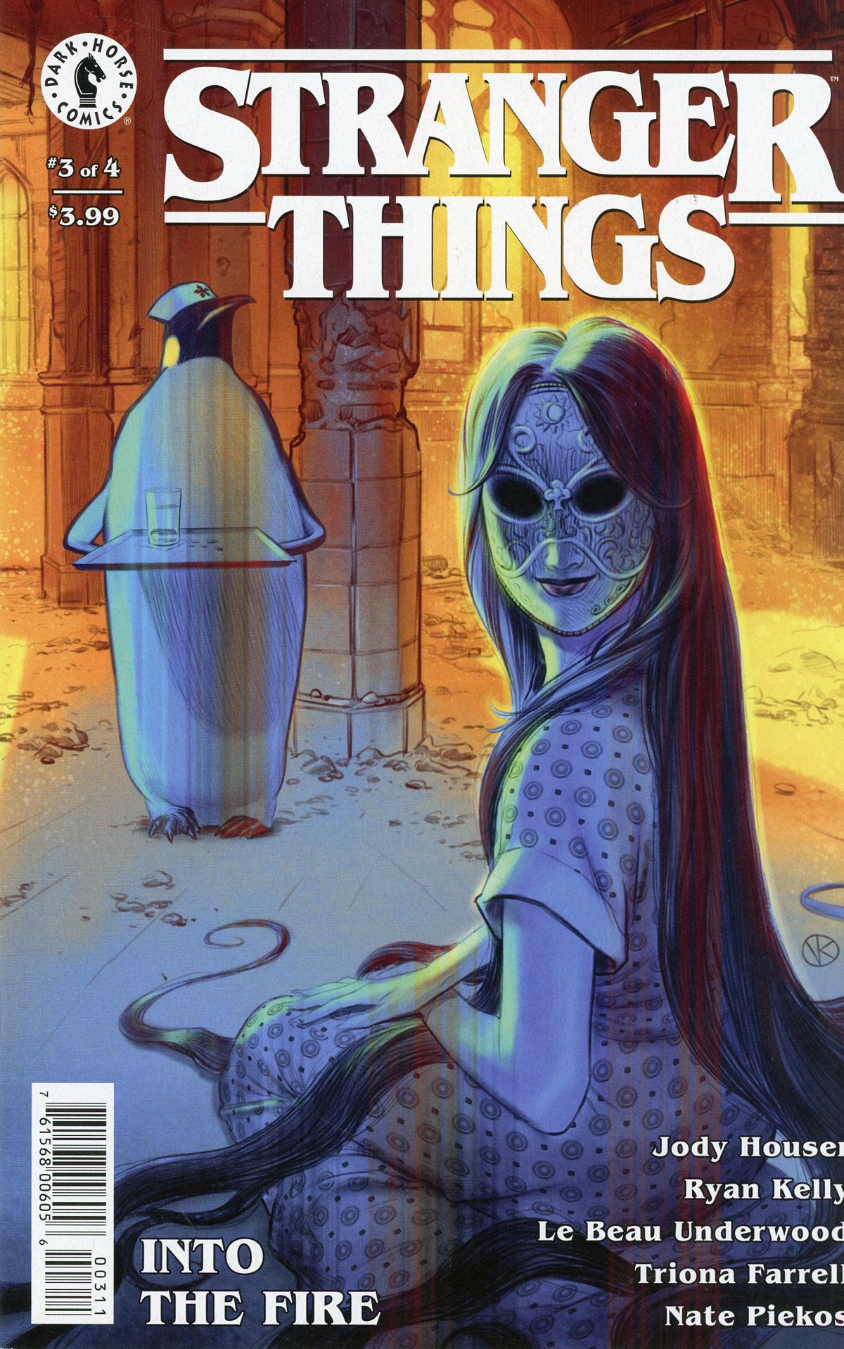 Stranger Things Into The Fire #3 Cover A Regular Viktor Kalvachev Cover