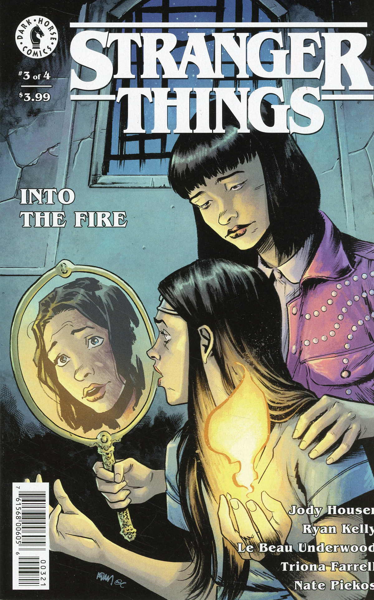 Stranger Things Into The Fire #3 Cover B Variant Adam Gorham Cover