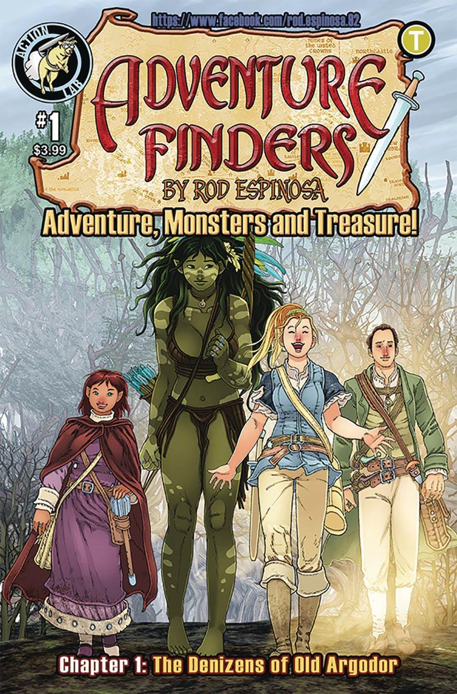 Adventure Finders Vol 3 #1