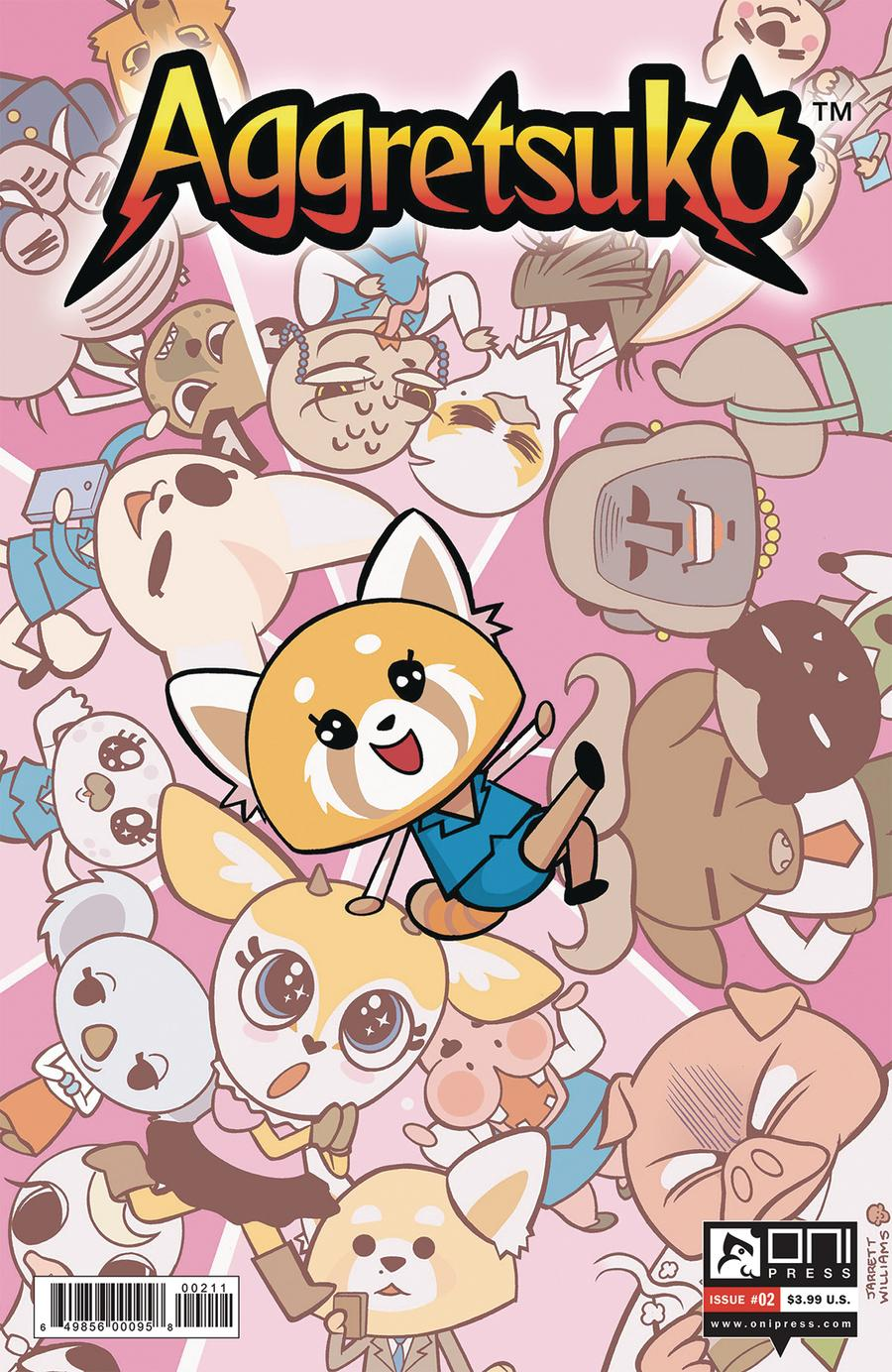 Aggretsuko #2 Cover A Regular Jarrett Williams Cover