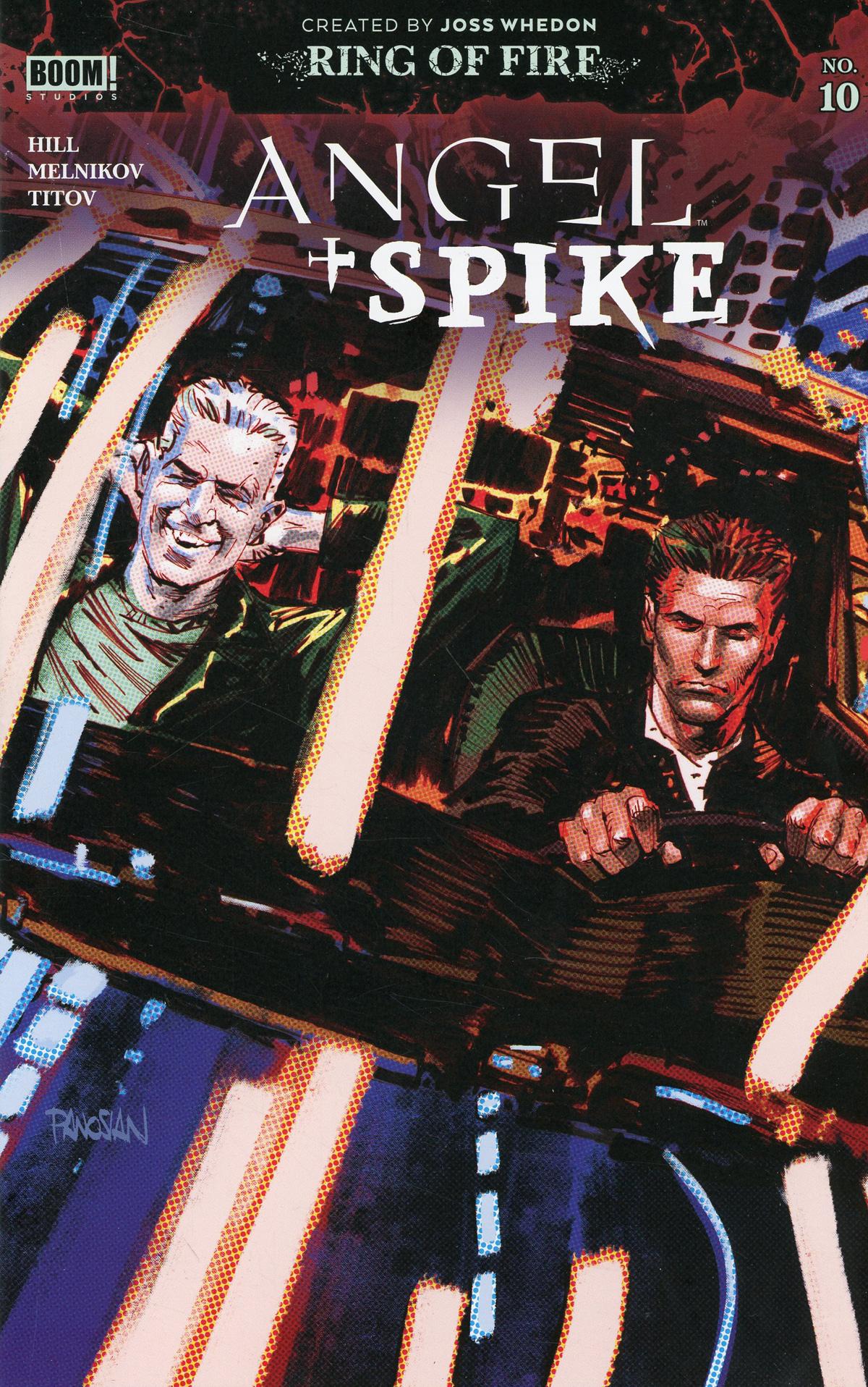 Angel & Spike #10 Cover A Regular Dan Panosian Cover