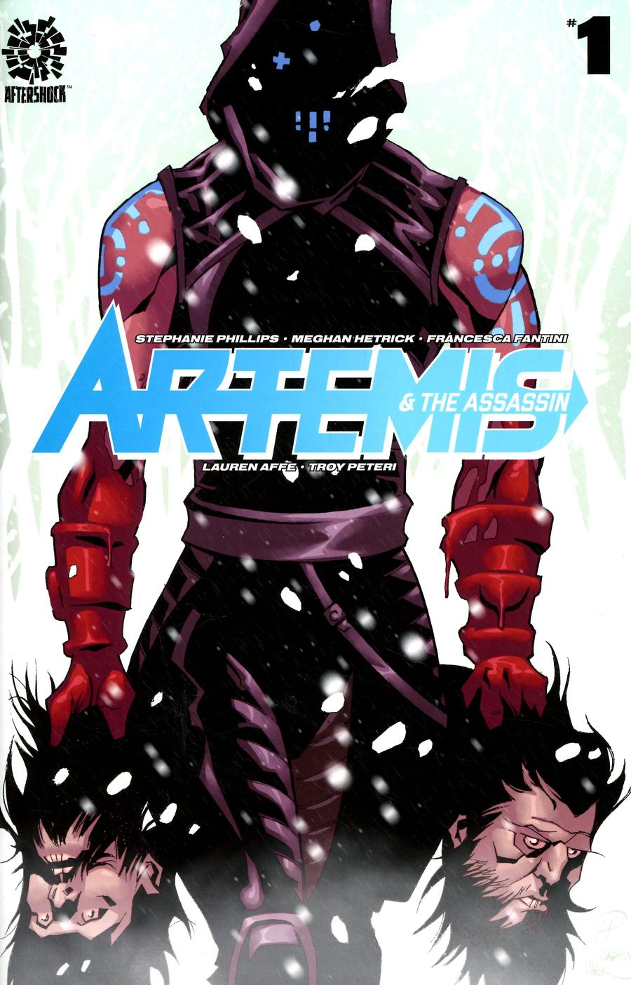 Artemis And The Assassin #1 Cover A Regular Phil Hester & Mark Englert Cover