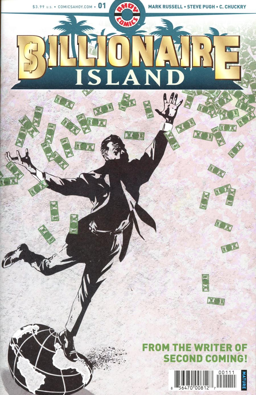 Billionaire Island #1 Cover A Regular Steve Pugh Cover