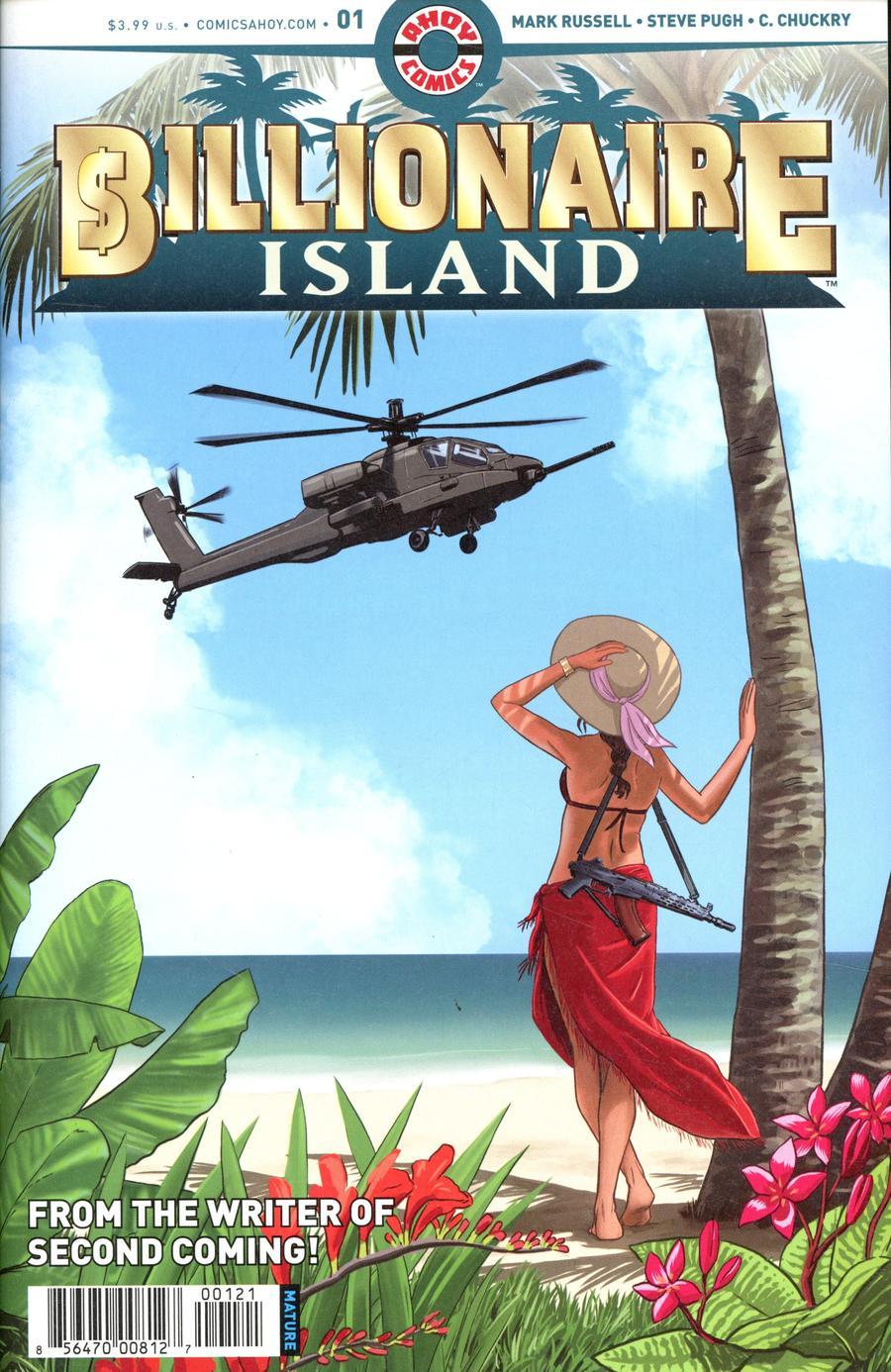 Billionaire Island #1 Cover B Variant Pia Guerra Cover